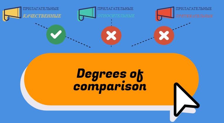 правила образованиЯ степеней сравнения