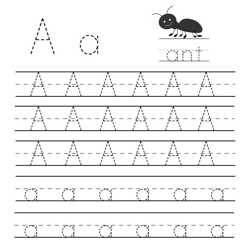 пропись английского алфавита буква a