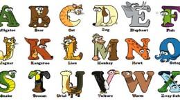 упражнения на алфавит