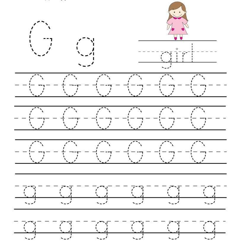 пропись английского алфавита буква g
