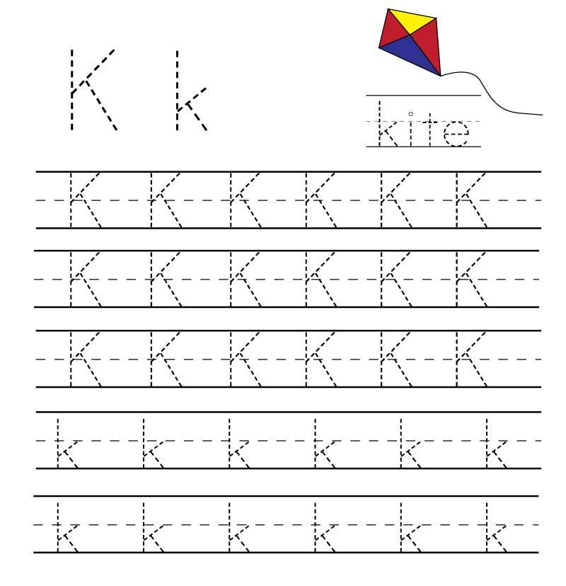 пропись английского алфавита буква k