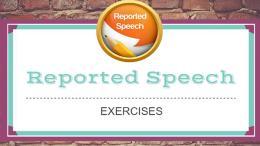 упражнения на косвенную речь