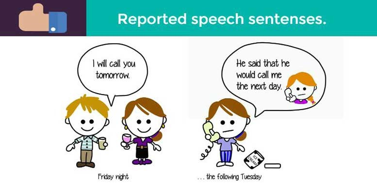 косвенная речь примеры предложений