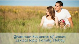 sequence of tenses exercises