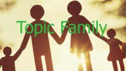 тема my family