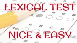 lexical-test