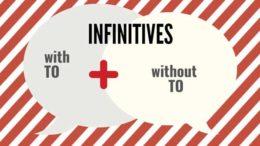 инфинитив с частицей to и без частицы to