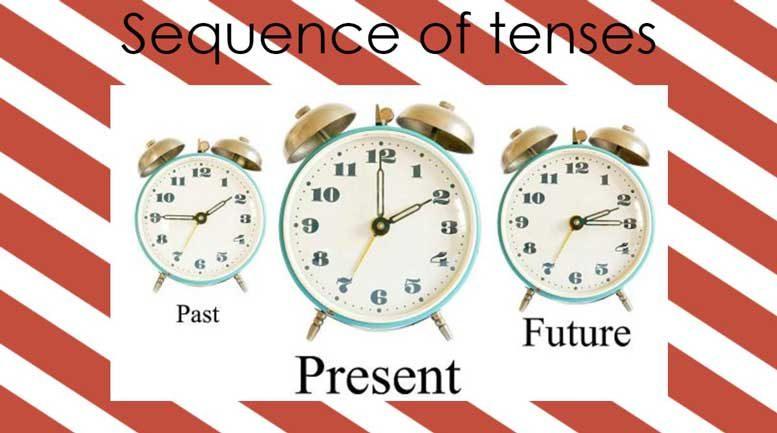 правила и примеры согласования времен