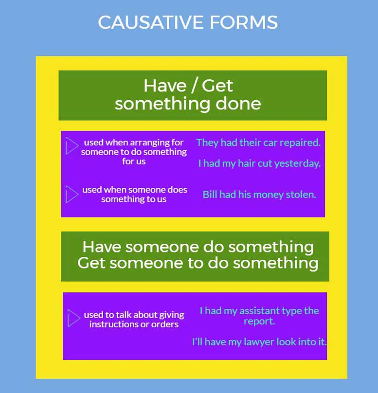 causative forms