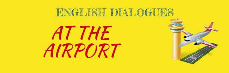 в аэропорту диалоги