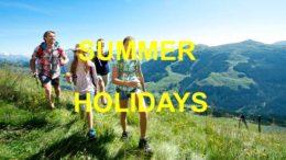 летние каникулы сочинение на английском