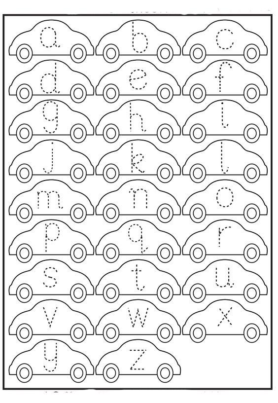 прописи строчные буквы английский алфавит