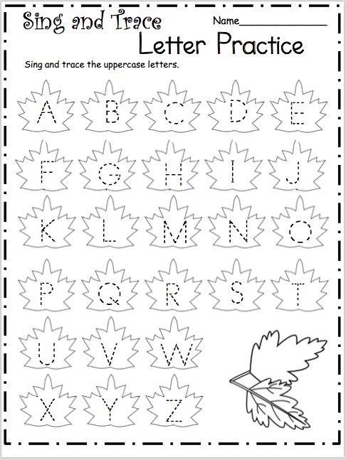 английский алфавит прописи