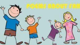 стихи про семью на английском языке