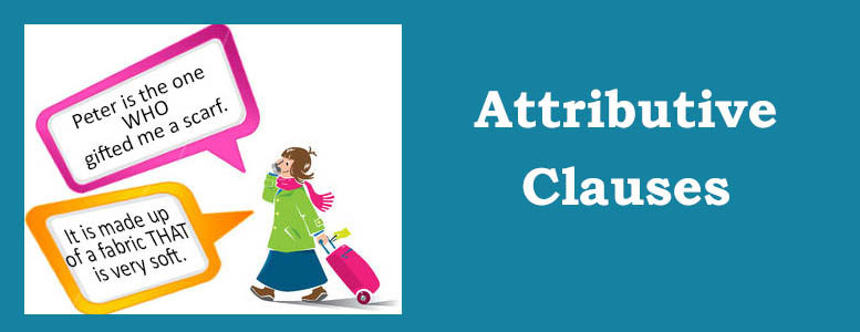 attributive clause